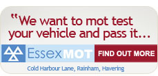 Essex MOT Find out more